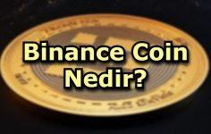 Binance Coin Nedir?